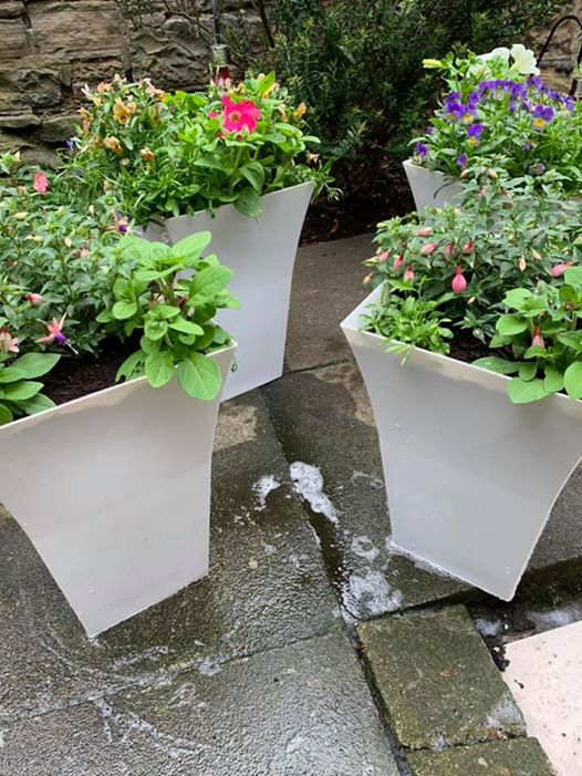 Buy garden ready flared flower pots online 2020